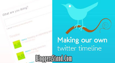 How To Add/Embed Twitter Timeline In Blogger Template