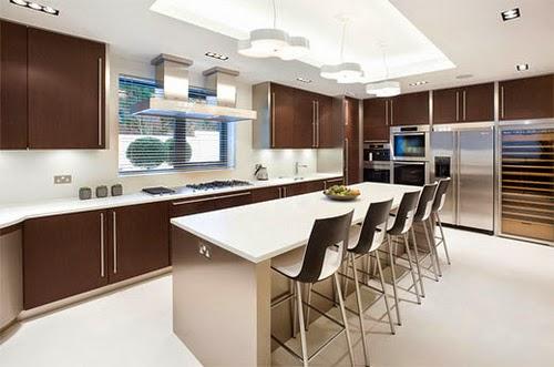 Modern Kitchen Window Design Idea