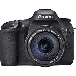 Câmera fotográfica digital profissional 7D canon