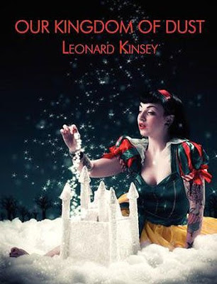 Cover images showing Snow White next to castle made of white dust.