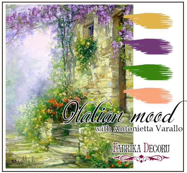 Задание марта. Italian Mood with Antonietta Varallo до 02/04