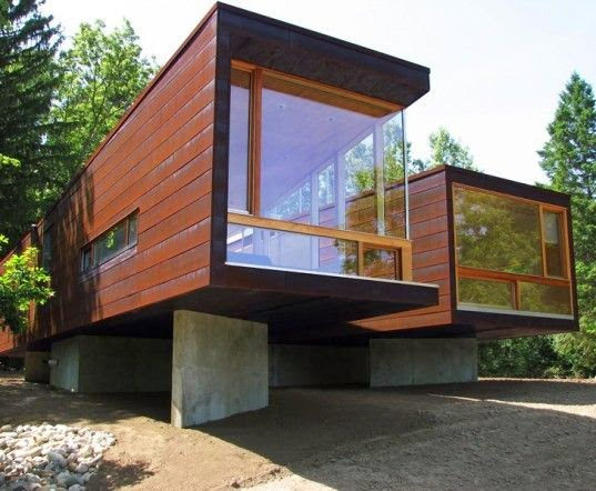 You want house made of recycled bottles containers and pallets - Container van homes ...