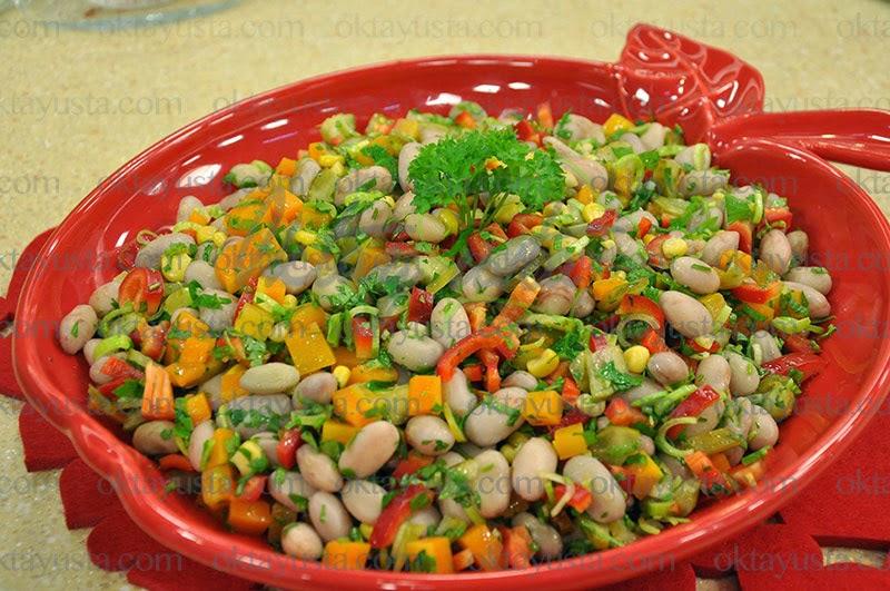 Barbunya Salatası Tarifi Kolay Yapımı