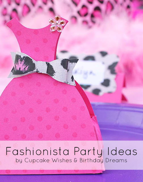 party favor, dress up party, favor box