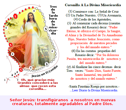 divina misericordia coronilla