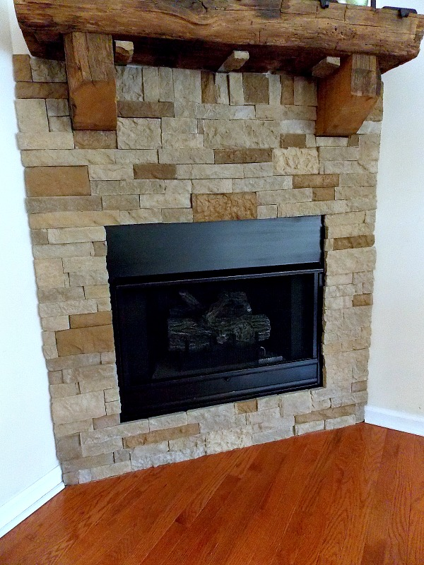 Airstone Fireplace surround