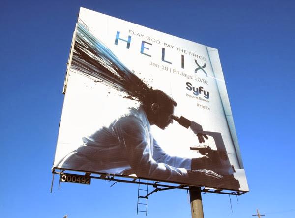 Helix series premiere billboard