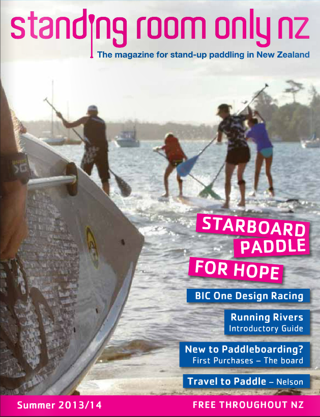 Standing Room Only - NZ SUP Magazine