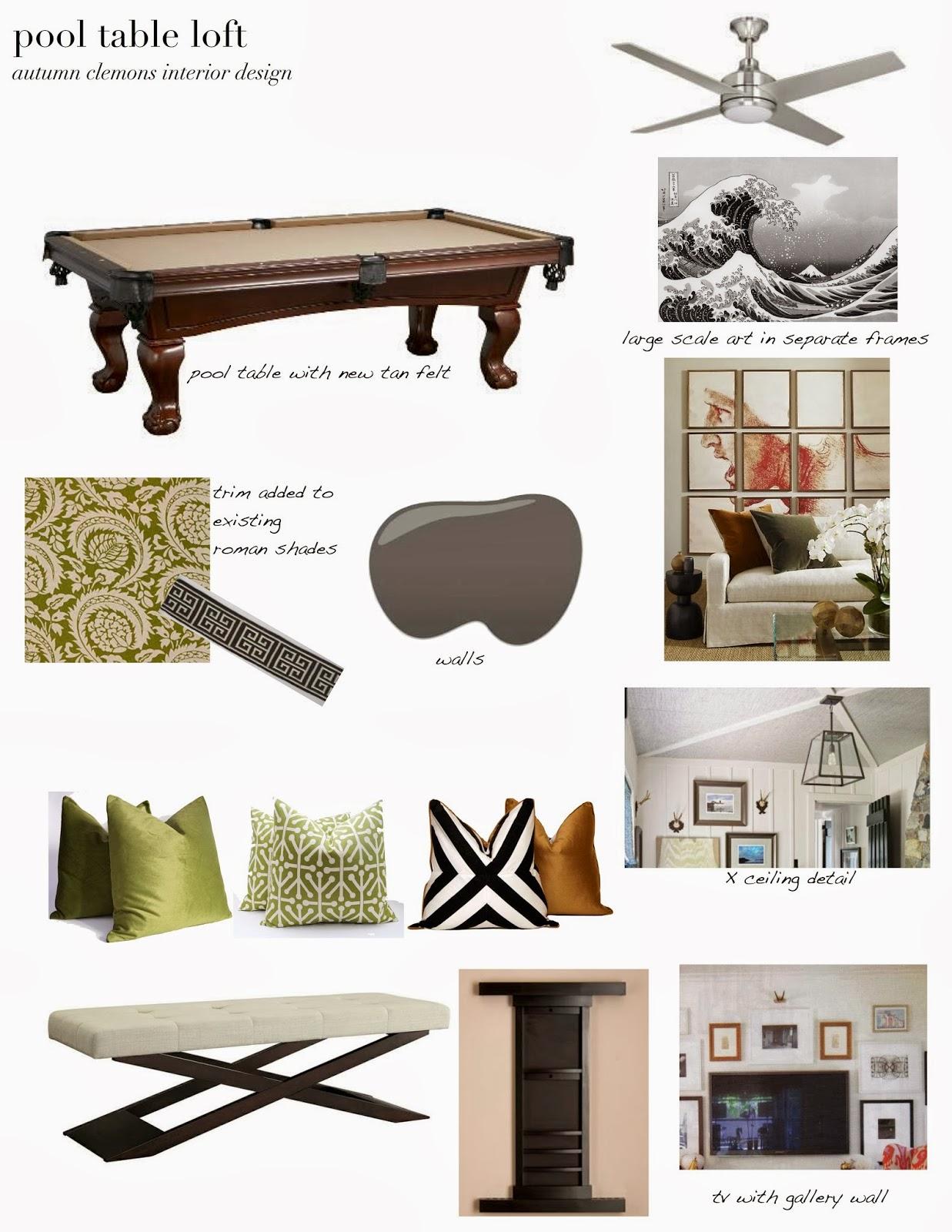 Design Dump Design Plan Pool Table Loft - Pool table wanted