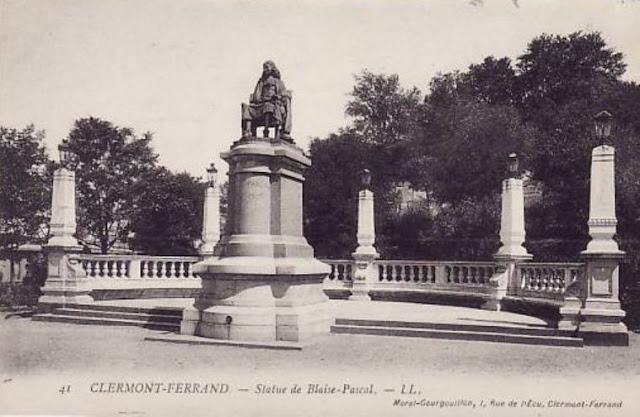 Blaise Pascal, sa statue