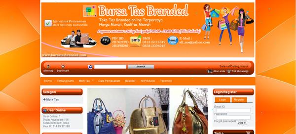 Bursatasbranded.com Toko Tas Import Terpercaya