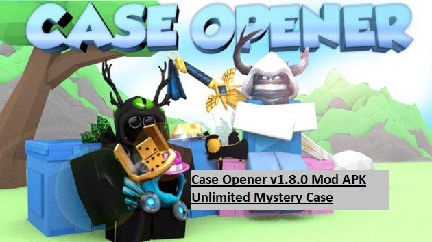 Case Opener v1.8.0 Mod APK Unlimited Mystery Case