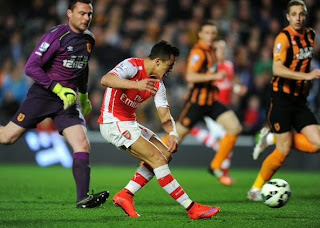 Results : Hull City 1-3 Arsenal