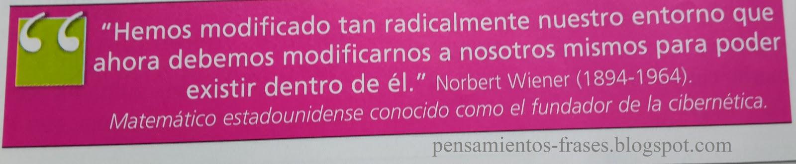 frases de Norbert Wiener