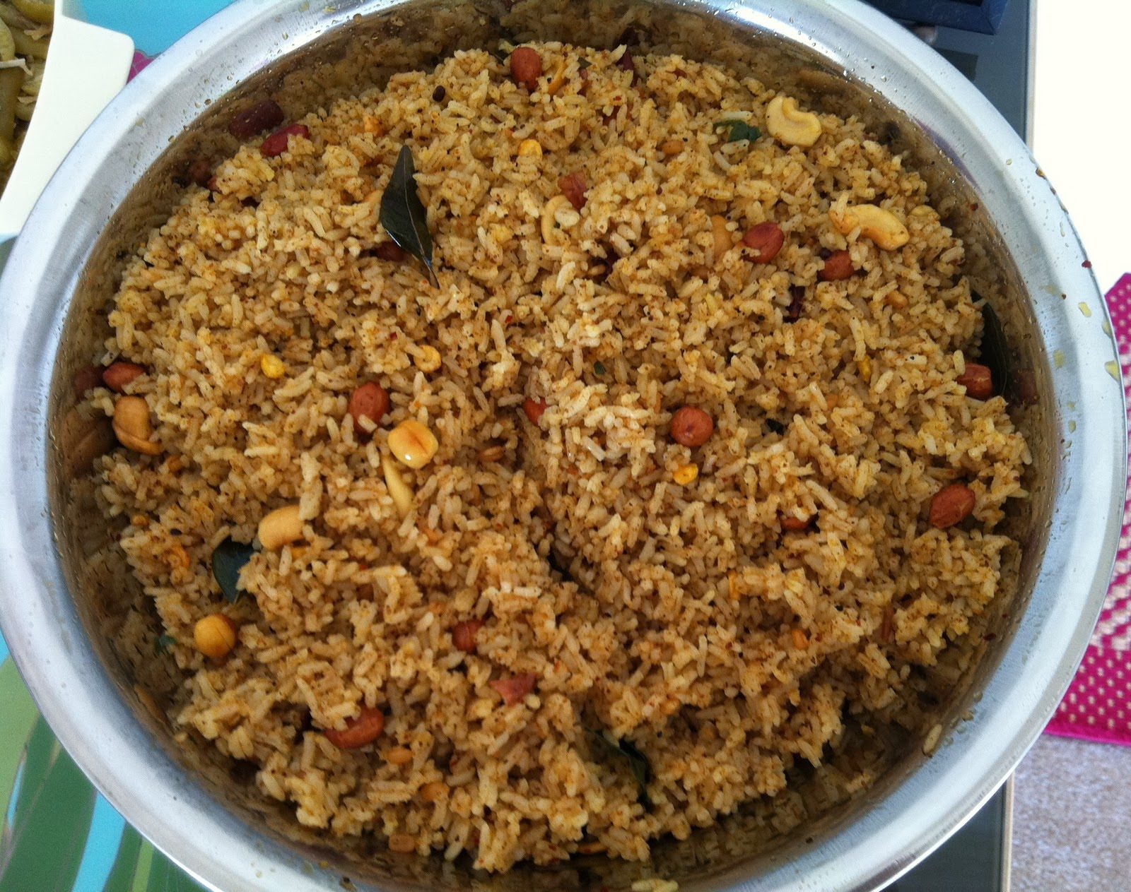 ... Tamarind Rice / Puli Sadam - Variety Rice Recipes - Lunchbox Recipes