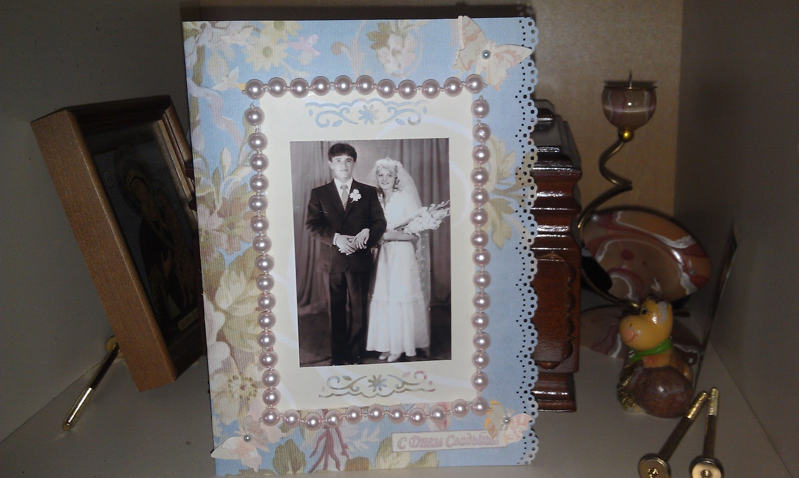 Что сделать своими руками родителям на свадьбу