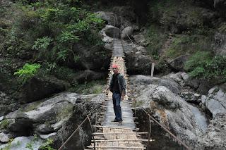 Hanging Bridge, Near Mahakal Cave, Jainti, Buxa Tiger Reserver, Dooars