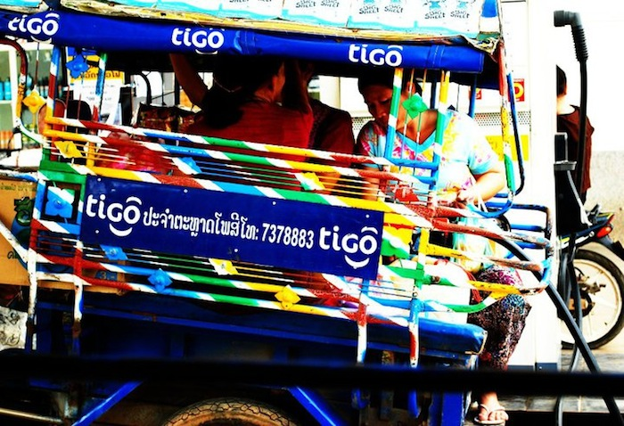 public transport in laos