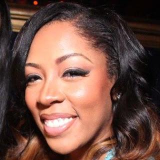K Michelle fake teeth