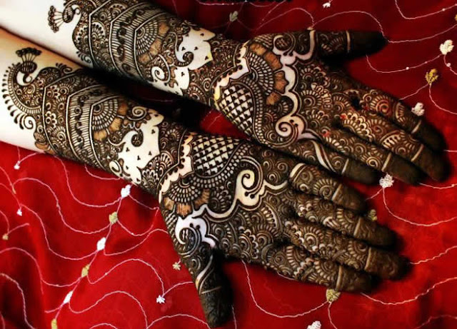 eid with mehndi styles
