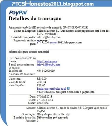 PAGAMENTOS BERUBY BRASIL 4.pgto.beruby.ptcshonestos