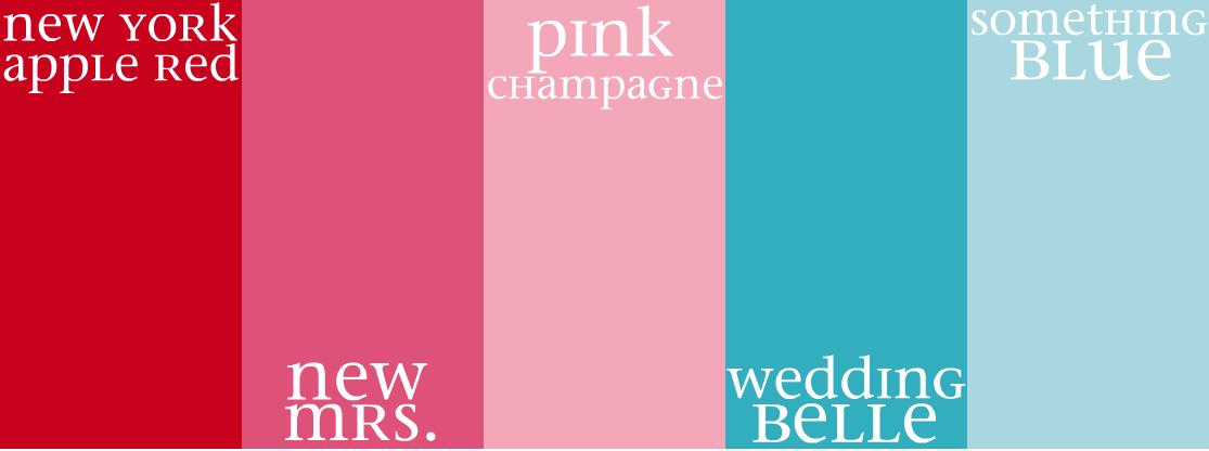 Oh so darling color palette kate spade wedding belles for Sophisticated color palette