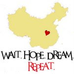 A piece of our heart is in China!