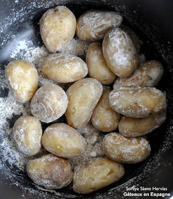 mini pommes terre gros sel