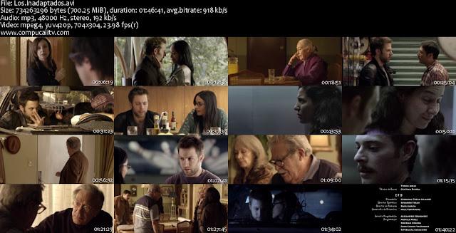 Los Inadaptados DVDRip Descargar Español Latino 1 Link 2011