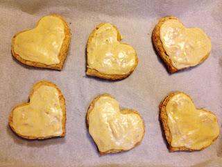 The Lush Chef: Grand Marnier-Glazed Almond Scones