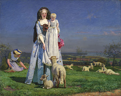 Ford Madox Brown - The pretty Baa-lambs (1851-59)