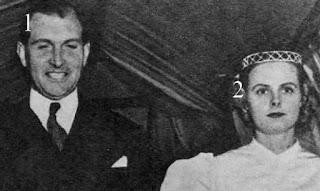 Alexander Ramsay et l'Hon.Flora Fraser