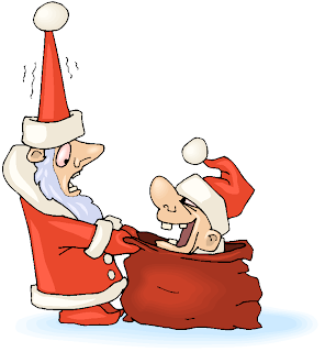 Surprised Santa Free Clipart