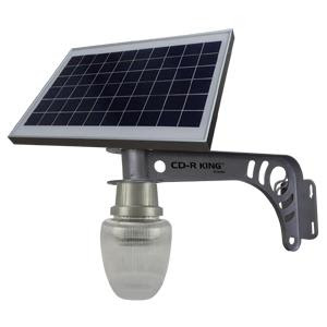 CD-R King: Let There Be Solar Powered Light