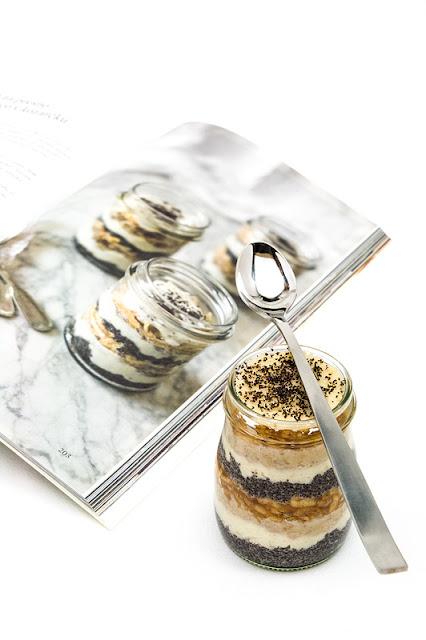 Presna gibanica v kozarčku Raw dessert in jar book recipe and jar