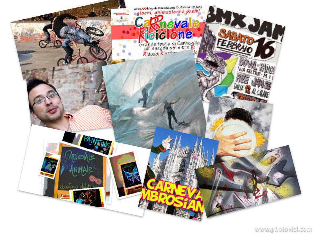 Clown, carnevale, aperitivi in concerto, musica africana, arte per tutti a Milano sabato 16 e domenica 17 febbraio 2013