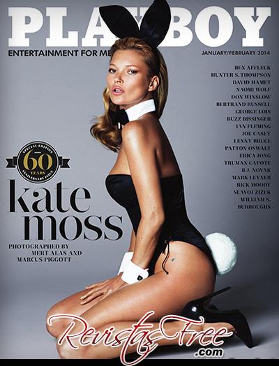 Kate Moss - Playboy USA - Janeiro/Fevereiro 2014