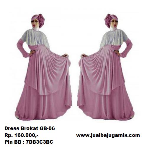 Gambar Dress Brokat Modern