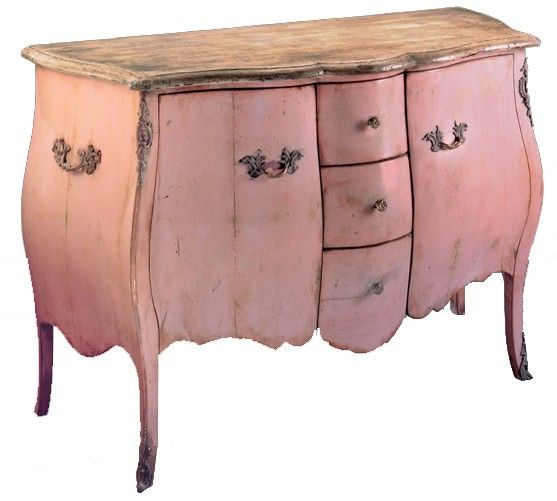 Decorating With Distressed Pink Furniture – decoration,wood ...