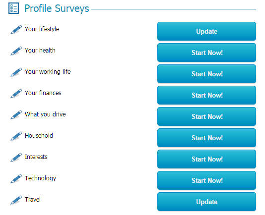Complete your profile - Global test market