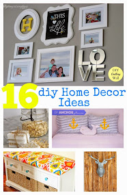 16 diy home decor ideas feature:)