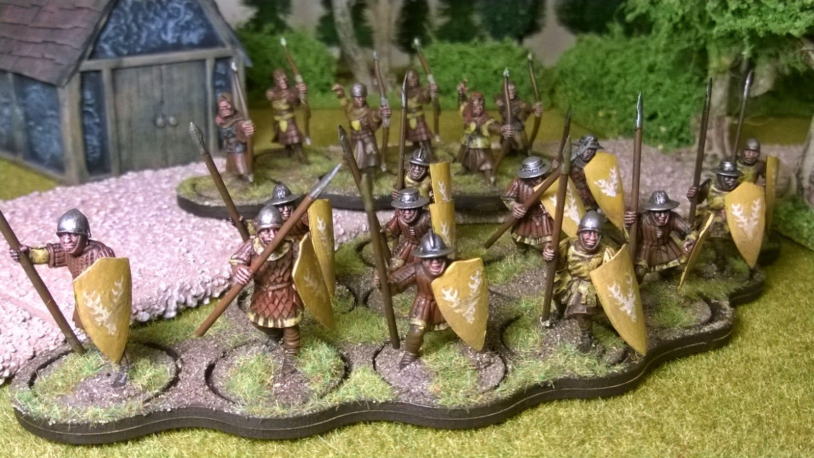 house baratheon game of thrones saga lion's rampant warband