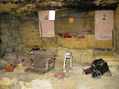 Las galerías subterráneas que albergaron a la guerrilla soviética durante la ocupación nazi de Odessa Guerrilla+catacumbas+odessa