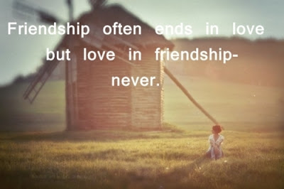 Love in Friendship-Never