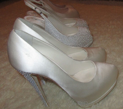 Mr. Giuseppe Zanotti Custom Made These Shoes For Kim For Her Wedding. So  Beautiful. The Shoes Really Mean A Lot On The Weddingday, Even Though  People Really ...