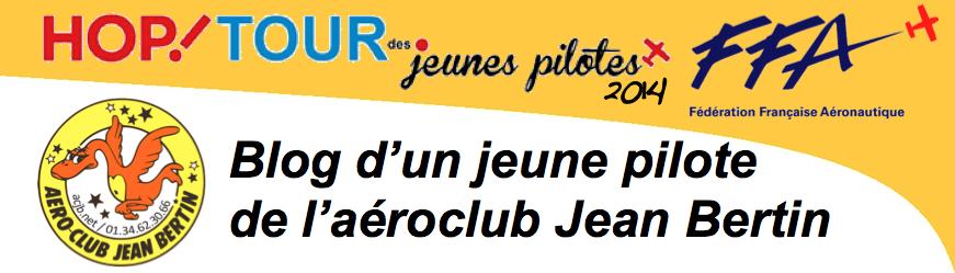 HOP! Tour des Jeunes Pilotes 2014 - Aéroclub Jean Bertin