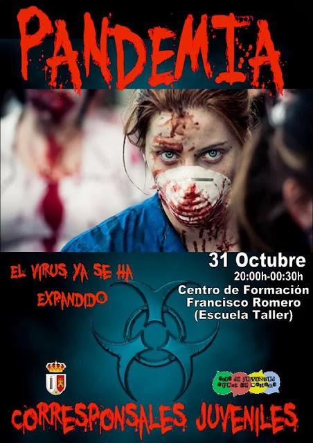 Pandemia, Casa del Terror, Cártama, Málaga