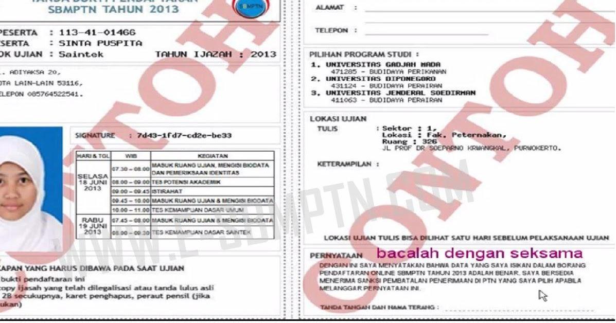 Formulir Pendaftaran Sbmptn 2013 Sbmptn 2017 Soal Dan Pembahasan