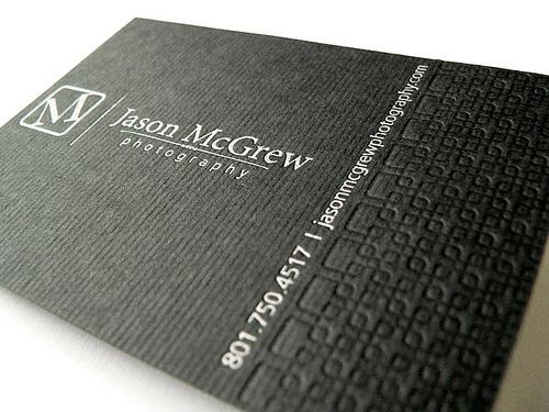 tarjetas de presentacion a dos tintas
