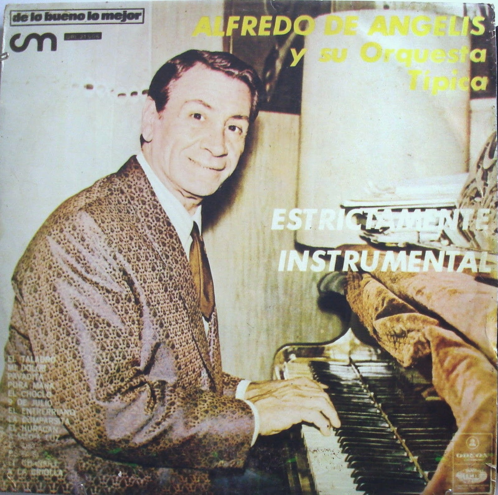 Alfredo de Angelis - Tango Argentino